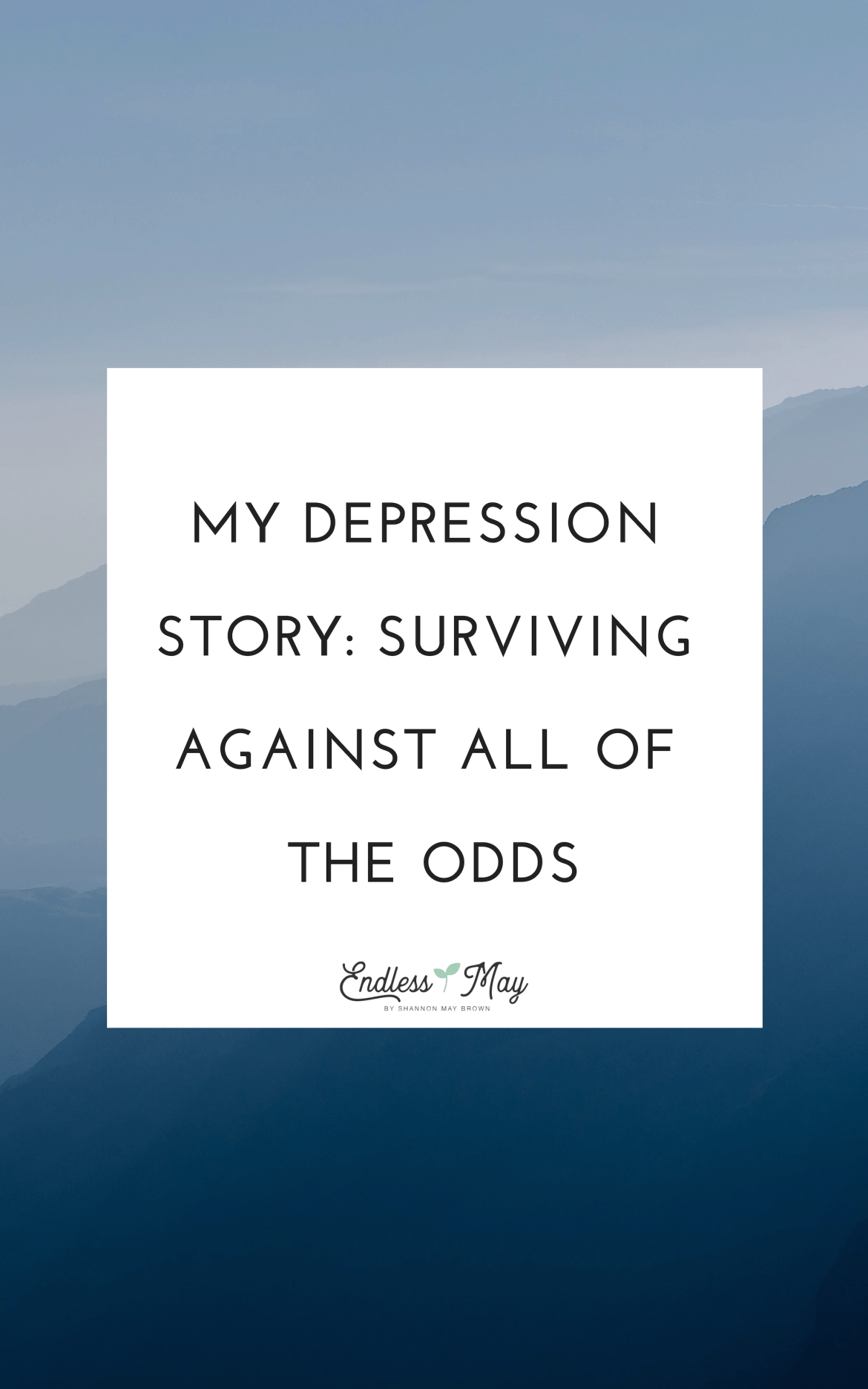 My Depression Story: Surviving Against All Of the Odds | An important guest post about the importance of suicide awareness in colleges.