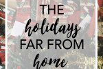 Celebrating the holidays away from home can be hard, especially in Christmas. This is how this college student is going to make new traditions and make the best of the holiday season!