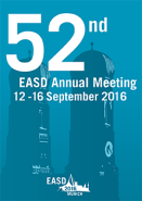 52nd EASD Annual Meeting 2016, 12 - 16 September in Munich, Germany