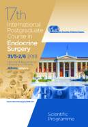 17th International Postgarduate Course in Endocrine Surgery, 31/05 - 02/06/2018, Athens, Greece