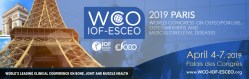 WCO-IOF-ESCEO, Paris from April 4 to April 7, 2019