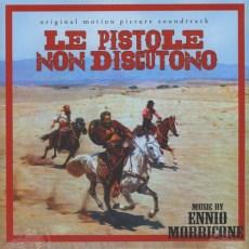 Soundtrack - Le pistole non discutono, E.Morricone - LP