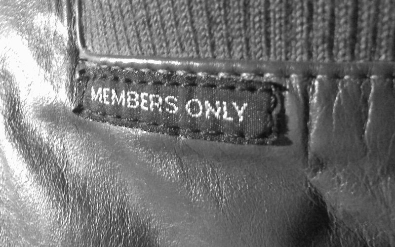 Got your members only jacket?