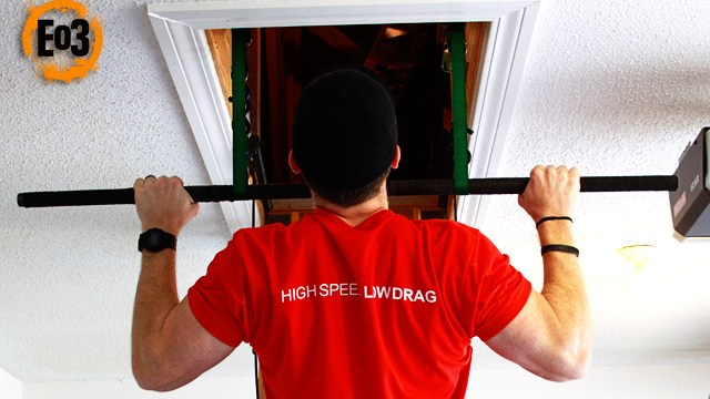 Diy pull up bar in minutes