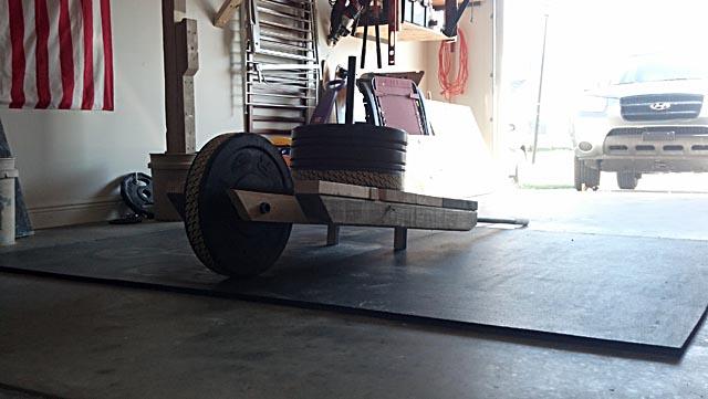 DIY Wheelbarrow and Sled 2-in-1