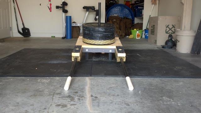 diy hip thruster machine