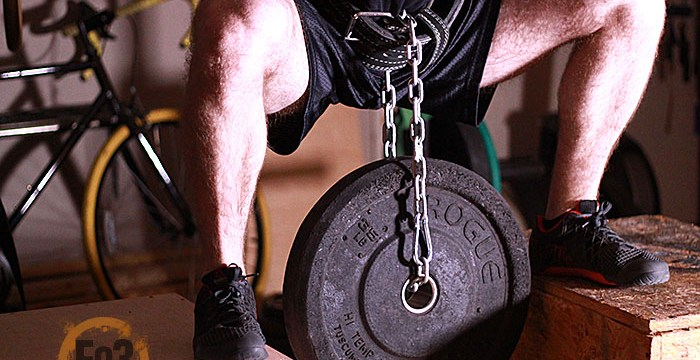 How to Spice up the Garage Gym with Chains and PVC