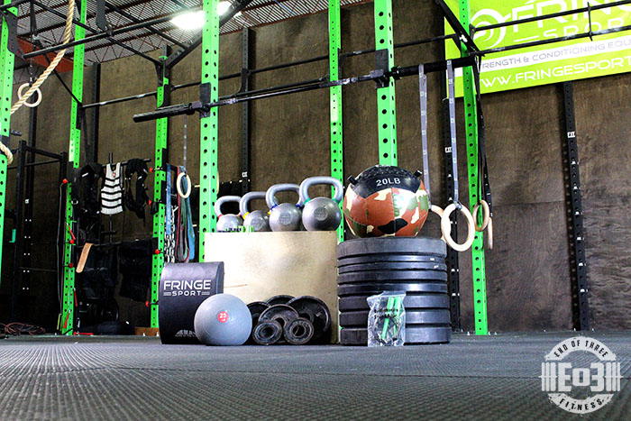 We re giving away a garage gym end of three fitness