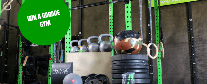 We're giving away a garage gym!!