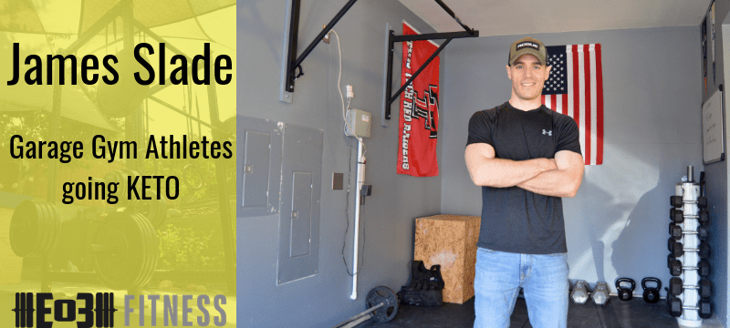 Garage Gym Athletes going KETO with James Slade