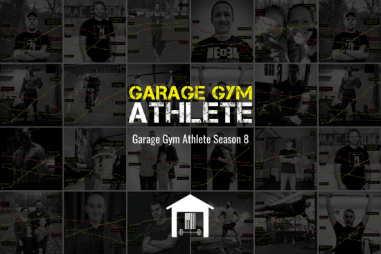 garage gym athlete, season 8, end of three fitness, fitness, podcast