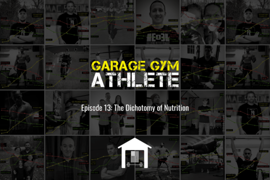 garage gym athlete, fitness, end of three fitness, podcast, nutrition