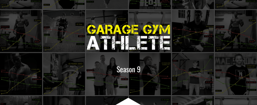 garage gym, garage gym athlete, podcast, end of three fitness fitness, athletes, interview