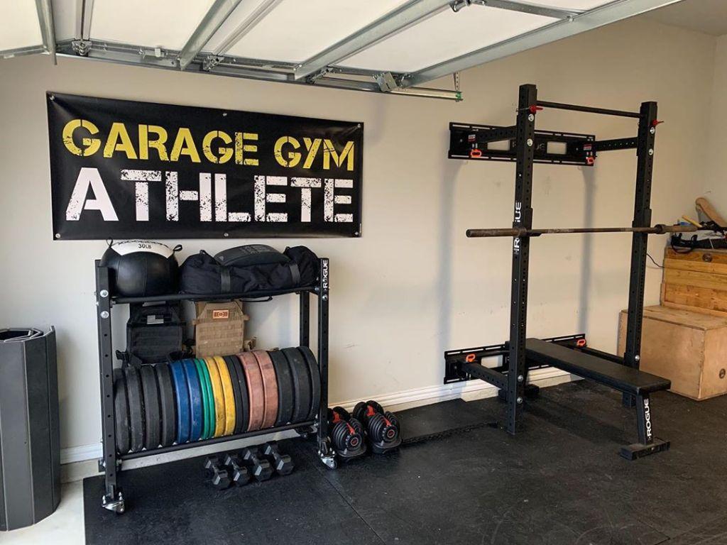 garage gym, garage gym athlete, garage gym tour