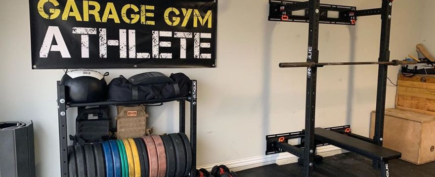garage gym, garage gym athlete, garage gym tour