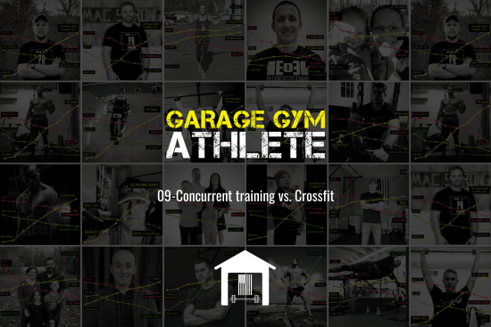 garage, garage gym athlete, garage gym, end of three, end of three fitness, CrossFit, ask me anything, concurrent training