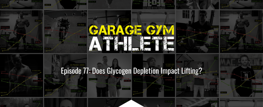 garage gym, garage gym athlete, end of three fitness, fitness, glycogen depletion impacts lifting, fit week during the holidays, eo3 5k