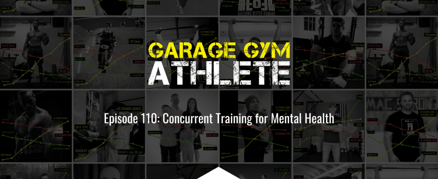 garage gym, garage gym athlete, end of three fitness, fitness, concurrent training for mental health, breath regulation when wearing the weighted vest during workouts, perpetual motion, meet yourself Saturday