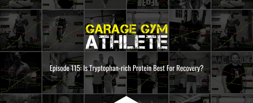 garage gym, garage gym athlete, end of three fitness, fitness, tips for new athletes, heavy load short distance, meet yourself Saturday, Is Tryptophan-rich Protein Best For Recovery?