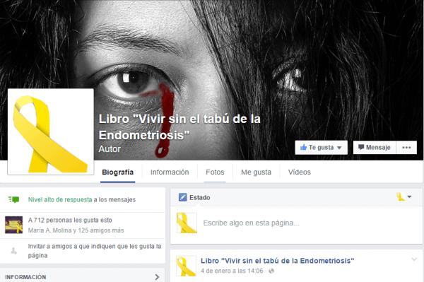 Libro Vivir sin el tabú de la Endometriosis