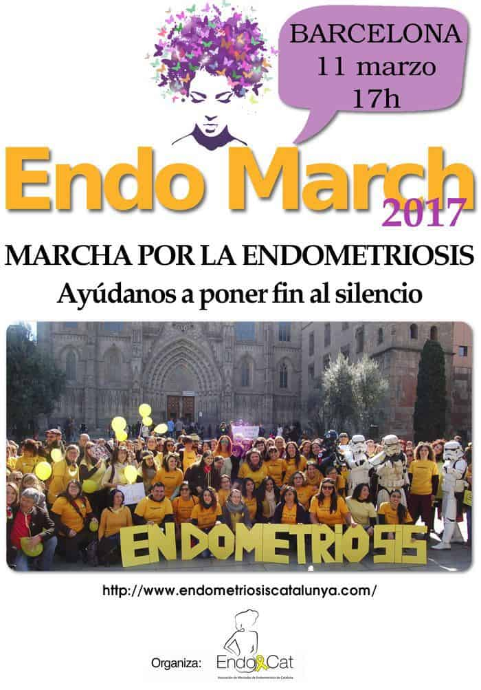 Evento EndoMarch 2017 en Barcelona