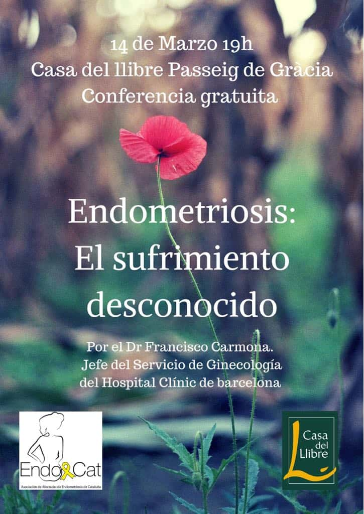 Conferencia sobre la endometriosis en Barcelona