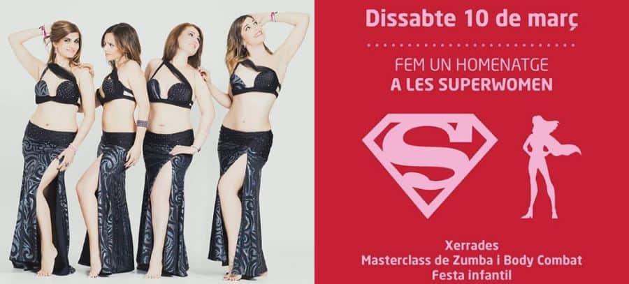Taller de danza del vientre en la Super Woman