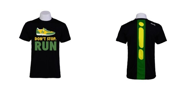 Bonk and Race Force apparel 3 - don't stop run