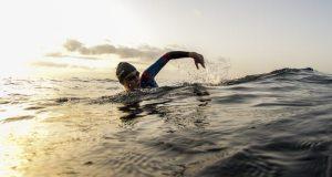 Triathlete swim - photo credit Orca