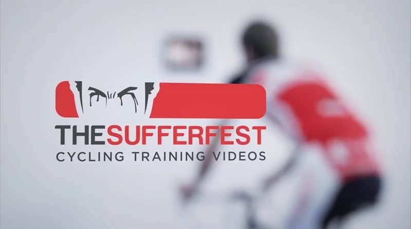 The Sufferfest - cycling training videos banner