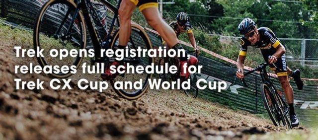 Registration opens for 2017 Trek CX Cup