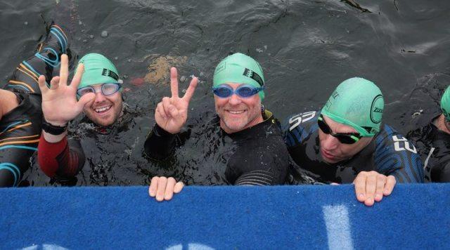 SH2OUT Swim athletes