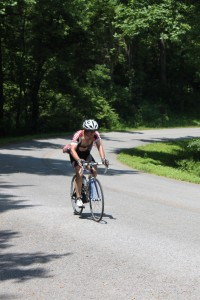 Blue Ridge Parkway Camp Thunder Pass Climb
