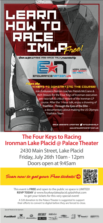 4 Keys Talk - Ironman® Lake Placid
