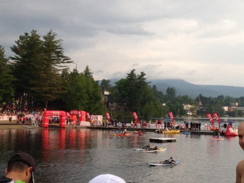 Pre Ironman Lake Placid Swim 201
