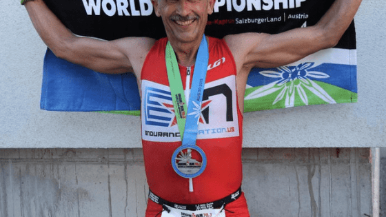 Paul Hough at 70.3® Worlds