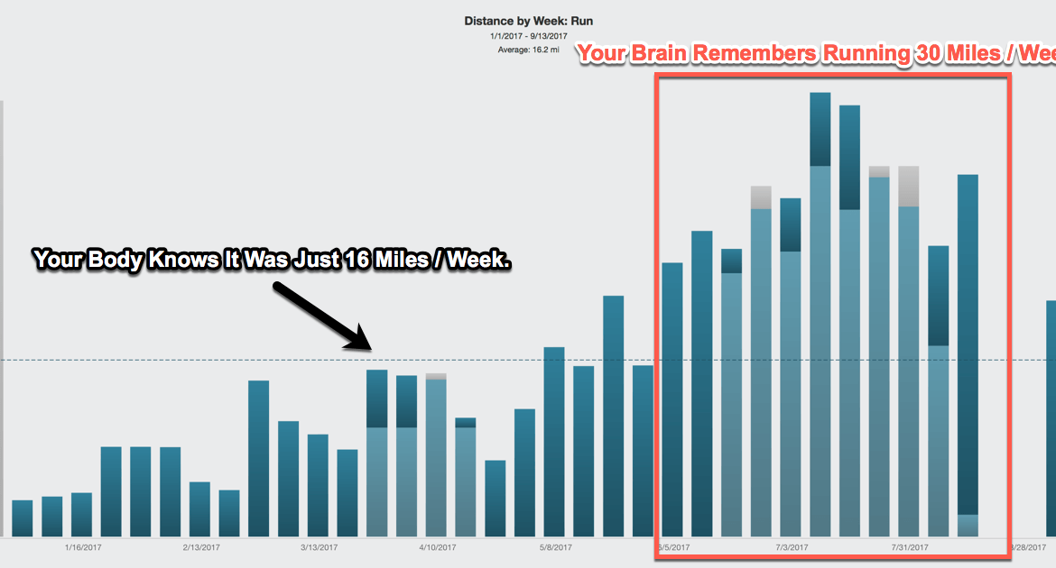 Annual Run Volume By Week