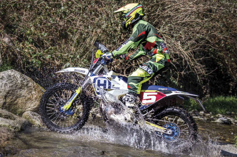TEST PREPARATA | Husqvarna FE 501 by CF Racing