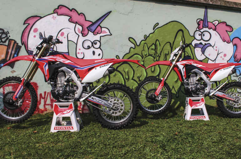 COMPARATIVA | Honda CRF 450 2017 vs 2018