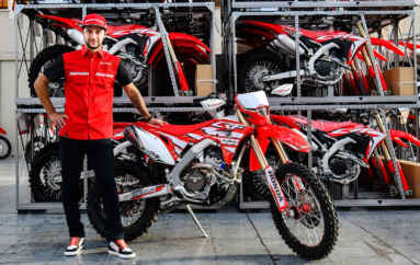 Christophe Charlier firma con Honda Racing RedMoto World Enduro Team