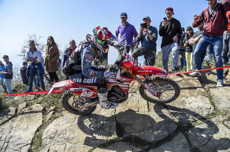 Podio e top ten per Honda Racing RedMoto World Enduro Team con Christophe Charlier e Thomas Oldrati