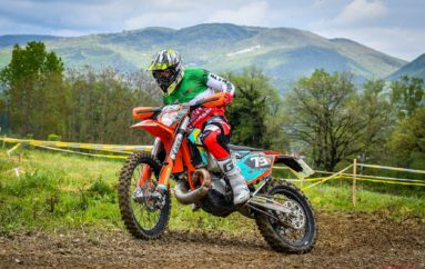 Secondo posto per Matteo Bresolin nella tappa maceratese dell'Italiano Enduro Under 23 – Senior