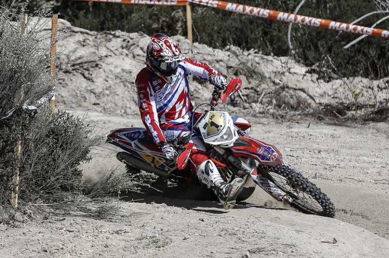 Steve Holcombe e Brad Freeman si spartiscono la Enduro GP