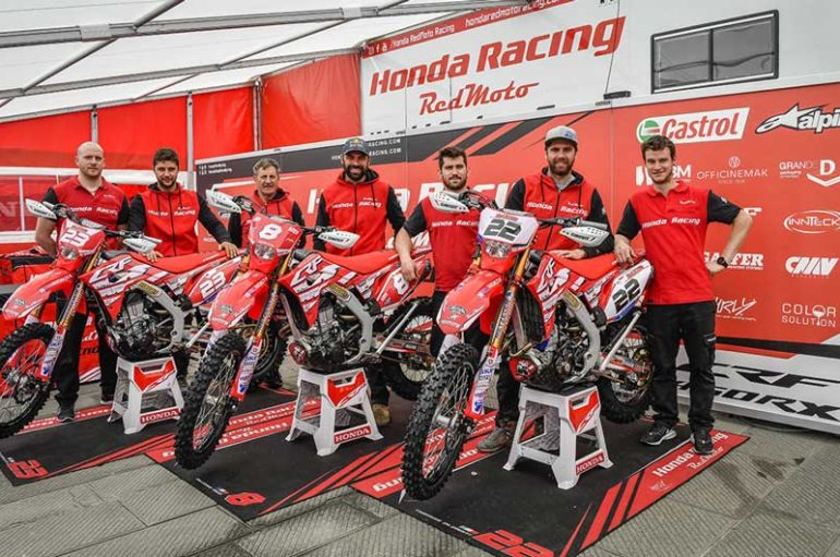 Il Mondiale Enduro arriva in Italia per la Valli Bergamasche con Honda Racing RedMoto World Enduro Team