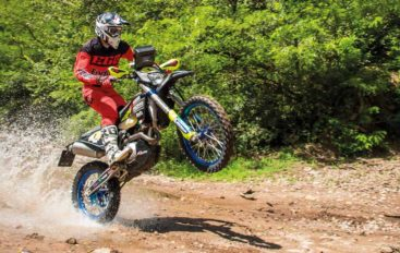 TEST Husqvarna FE501 by CF Racing