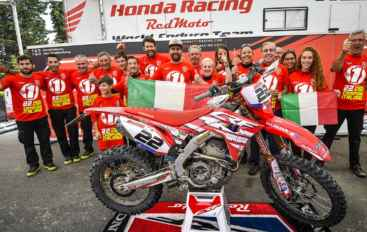 Honda RedMoto World Enduro Team e Thomas Oldrati Campioni d'Italia