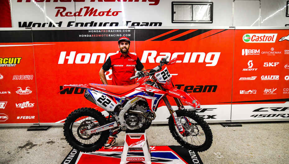 Thomas Oldrati rinnova con Honda Racing RedMoto World Enduro Team