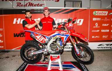 Daniel McCanney e Honda Racing RedMoto World Enduro Team insieme per la stagione 2020