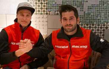 Roni Kytonen con Honda Racing RedMoto World Enduro Team