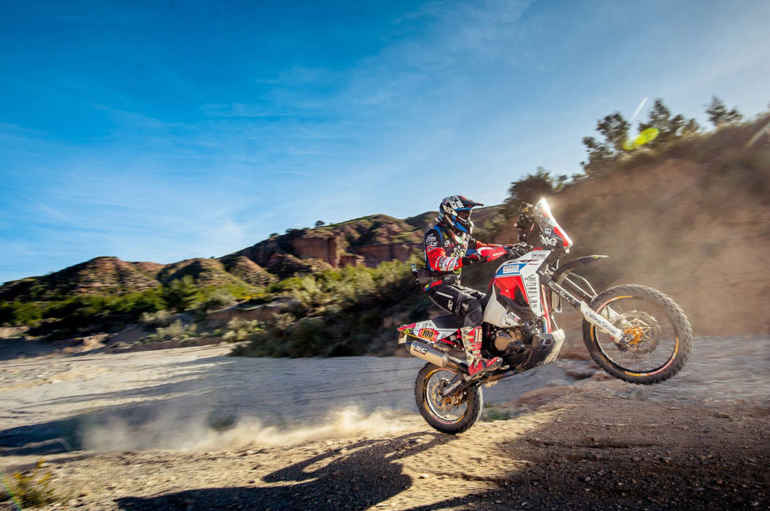 Le Africa Twin dominano la classe M6 del Hispania Rally 2020